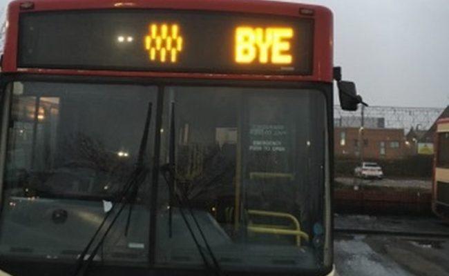 Issue with Halton Transport
